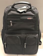 *NEW* Tumi Black Compact Laptop Brief Backpack Travel Luggage Bag #26173