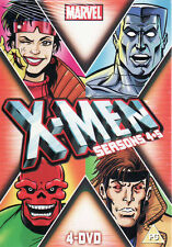 X-Men Season 4 & 5 - 4 DVD  Set Marvel - Brand New & Sealed