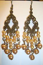 Large Long Indian~Asian Ethnic Boho Chandelier Earrings~ER91~uk seller~