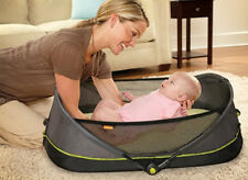 Brica Fold 'N Go Travel Baby Bassinet Infant Portable Sleeper Bed - 92222