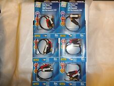 """Monster RCA Adapter Cable 6"""" Long 140292-00 Rca Male Plug To 2-Rca Female 6 PACK"""