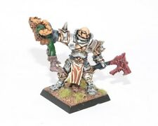 Warhammer Fantasy Battle Gamesday Chaos Champion with Elf Metal Painted