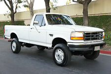 1996 Ford F-350 5-SPEED 87k MILES ~ POWERSTROKE 4x4 FREE SHIPPING