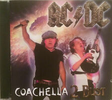 "AC/DC ""COACHELLA 2 BUST"" DOUBLE CD LIVE NEUF !"