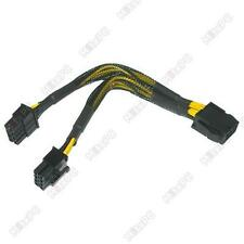 "6"" /160mm EPS-12V 8 pin Y-Splitter Power Cable"