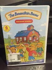 The Berenstain Bears - Discover School! (DVD, 2006) Mfg. Sealed