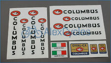 Bicycle Columbus OVAL-CX Forcella Originale Frame & Fork Decals Stickers Set Kit
