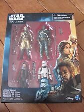 STAR WARS Rogue One JEDHA REVOLT 3.75 Figures 4 Pack w/ Saw Gerrera Jyn Erso NEW
