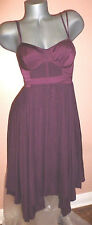 Victoria's Secret Corset ASYMMETRICAL MIDI DRESS SZ-2 NEW