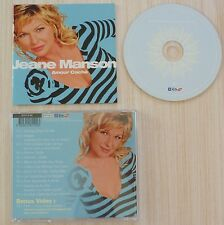 CD ALBUM AMOUR CACHE JEANE MANSON VERSION 12 TITRES + 1 BONUS VIDEO