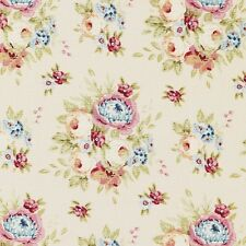 Tilda Fabric. Spring Diaries. Garden Flowers in Dove White. Cotton. By the FQ