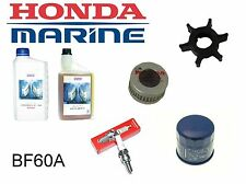 Honda 60hp BF60A Outboard Service Kit (Impeller Spark Plug Filters)