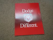 2000 DODGE CHARGER VIPER RAM DAKOTA STRATUS ORIGINAL DEALER SALES BROCHURE