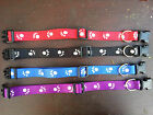 Adjustable Paw Print Nylon Pet Collar, Great Value & Quality!-UK Trusted Seller!