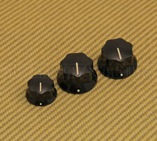 099-2085-000 Genuine Fender Pure Vintage 60s Jazz Bass Knobs USA Set of 3
