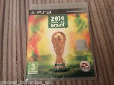 SONY PS3 FIFA WORLD CUP 2014 BRAZIL GAME BRAND NEW PAL SEALED
