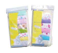 Best-chioce New 8Pcs/Pack Baby Face Washers Hand Towels Wipe Wash Cloth JG