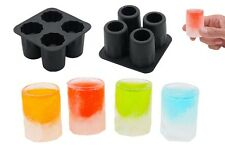 Silicone Shooters Shot Ice Cube Glass Freeze Mold Jelly Cookie Maker Tray Party
