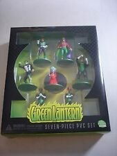 DC Direct Green Lantern PVC Box Set  MIB NEW 7 piece set