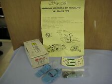 NEW, UNBUILT SC Model Porsche Carrera BP Sonauto, Le Mans '73, 1/43 Resin Kit