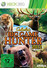 CABELAS-Big Game Hunter 2012 per XBOX 360 | Nuovo | completamente in tedesco