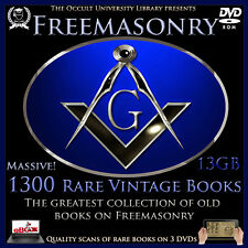 Occult Books FREEMASONRY Freemason Masonry Templar Illuminati Masonic ebooks /