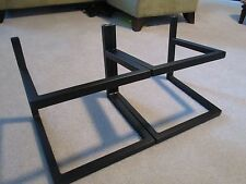Large steel speaker stands  A & M  (set of 2)  14w x 11d x 10.75tall