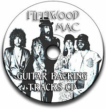19 x FLEETWOOD MAC STYLE ROCK GUITAR BACKING TRACKS COLLECTION CD JAM TRACKS