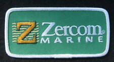 ZERCOM EMBROIDERED SEW ON PATCH MARINE ELECTRONICS BOATING FISHING SPORTS