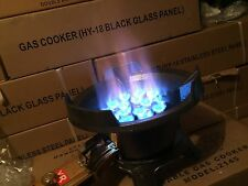 HIGH PRESSURE LPG GAS WOK BURNER GAS STOVE  COOKTOP + HOSE & REGULATOR
