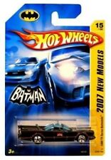 HOT WHEELS BATMAN BATMOBILE 1966 TV SERIES NEW MODELS 2007 TOY CAR GEORGE BARRIS