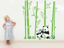 Huge Panda Bamboo Pattern Removable Wall Stickers Decal Kids Home Decor USA