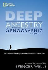 Deep Ancestry : Inside the Genographic Project by Spencer Wells (2007,...