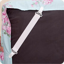 4 x Bed Sheet Mattress Cover Blankets Grippers Clip Holder Fasteners Sales