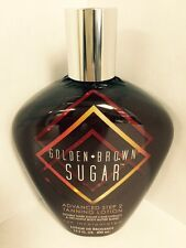 2016 Golden Brown Sugar Advanced Double Dark Tanning  Lotion Brown Sugar Tan Inc