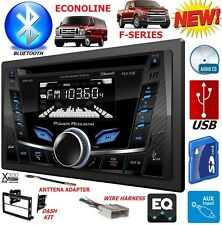 05-16 FORD F SERIES & E SERIES CD BLUETOOTH USB AUX Car Radio Stereo Double Din