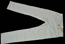 BNWT Denim & Supply Ralph Lauren Jeans Slim 32/34 Bianco GARANTITA ORIGINALE