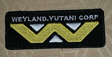 "ALIEN ""WEYLAND-YUTANI CORP ,EMBROIDERED IRON-ON PATCH / BADGE/ LOGO"