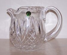 STUNNING RARE SIGNED WATERFORD IRELAND CRYSTAL PITCHER/JUG
