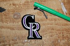 "Colorado Rockies 2 5/8"" Cap Logo 1993-Present Patch Baseball"