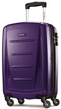 "Samsonite Luggage Winfield 2 Fashion 20"" Spinner Carry On Suitcase - Purple NEW"