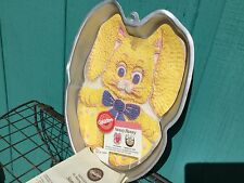 SUNNY BUNNY CAKE MOLD W/ INSTRUCTIONS WILTON  UNUSED