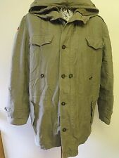 GERMAN ARMY CLASSIC PARKA Military Combat Jacket Coat  Olive XL 46-48""