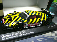 PORSCHE 911 GT1 Gunnar G99 2003 CAUTION ! Petty Lewis #6 Minichamps PMA 1:43