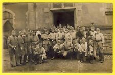 cpa CARTE PHOTO METZ 30e Régiment de DRAGONS Militaires Soldats Uniformes