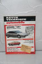 REVUE TECHNIQUE AUTOMOBILE de 1990 CITROËN XM essence N°514