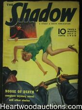 The Shadow  Jul 01, 1938  Murder for Sale