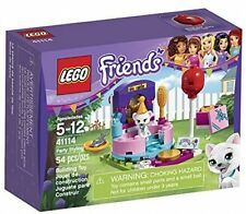 41114 PARTY STYLING lego friends set NEW legos freinds pets CAT kitten kitty