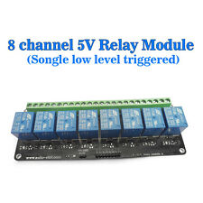 SRD-DC5V-SL-C DC5V 8-Channel Trigger The Relay Module Low Control Relay Module