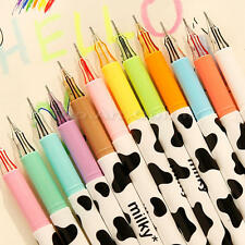 12Pcs Smooth 0.38mm Different Color Student Office Accessories Gel Pen Marker